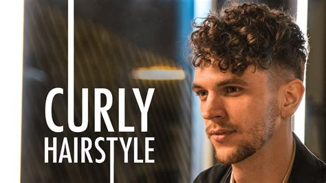 mens short curly hairstyle  summer  youtube