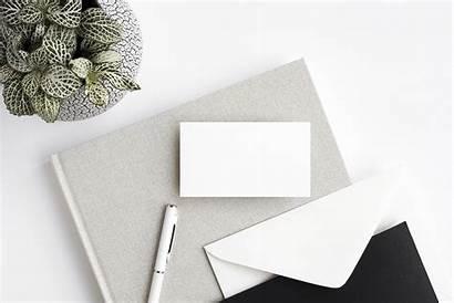 Minimalist Mockup Business Card Mockups Mock Edit