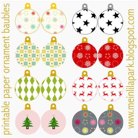 printable christmas ornaments happy holidays