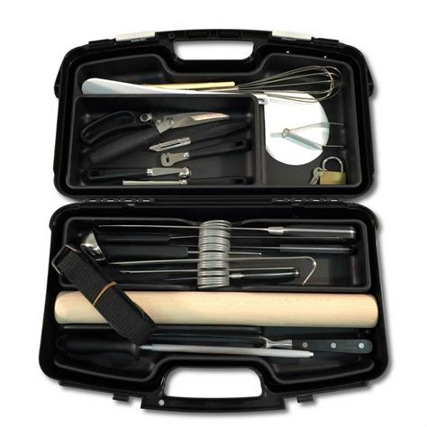 malette de cuisine professionnel mallette couteaux cuisine professionnelle 21 pi 232 ces eurolam