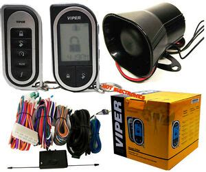 Viper Car Alarm With Remote Start Way Pager