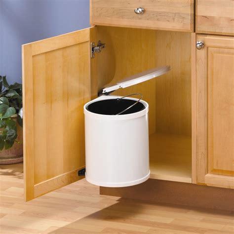 kitchen garbage cans sink knape vogt trash master waste bin the home depot canada 8106