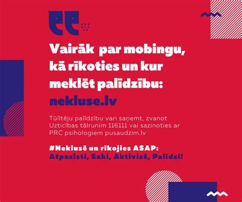 #Neklusē un rīkojies ASAP: Atpazīsti, Saki, Aktivizē ...