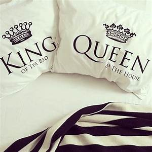 King And Queen Bettwäsche : 25 best ideas about king queen on pinterest king queen tattoo king and queen crowns and ~ Frokenaadalensverden.com Haus und Dekorationen