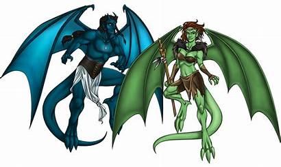 Gargoyles Oc Deviantart Rpg Alpha Version Demona