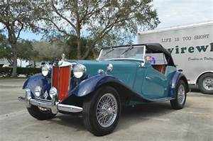 Beautiful 1951 Mg Td Clipper Blue With Dark Blue Fenders