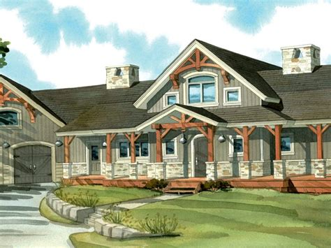 One Story Wrap Around Porch House Plans Many  House Plans