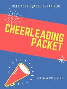 Cheerleading Information Packet And Cheer Cards By Teacher