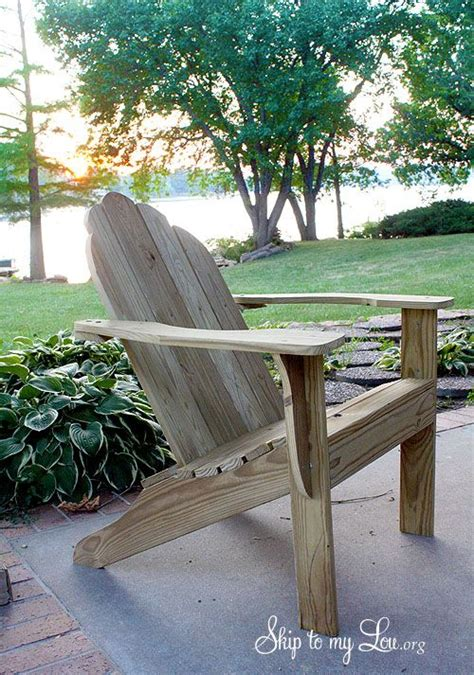 adirondack chair plans templates  woodworking
