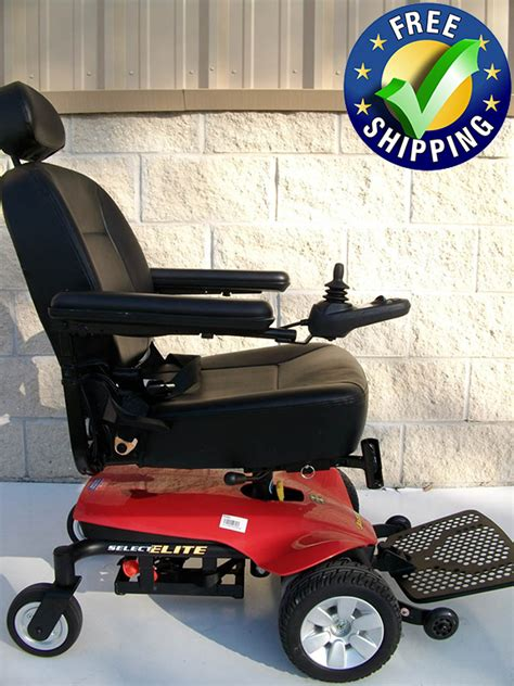 jazzy select elite power chair used electric wheelchairs