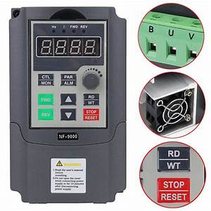 220v 1 5kw Variable Frequency Drive Vfd Inverter 1hp To