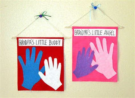 easy  grandparents day crafts  ideas  kids