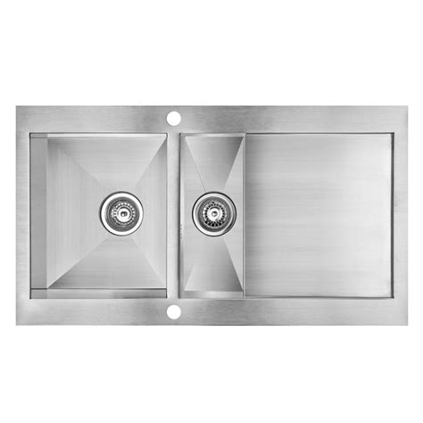 cooke and lewis kitchen sinks cooke lewis unik 1 5 bowl stainless steel kitchen sink 8328