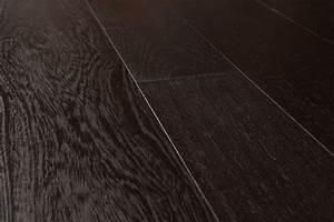 Wenge noir parquet contrecolle huile emois et bois for Parquet bois noir