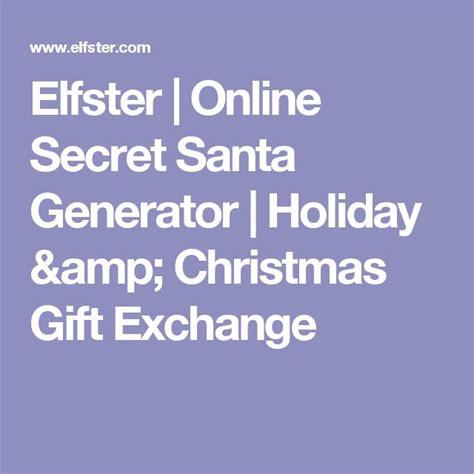 best 25 secret santa generator ideas on pinterest