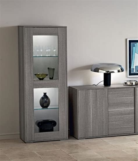 glass cabinets for living room futura 1 door display cabinet grey wood display cabinet