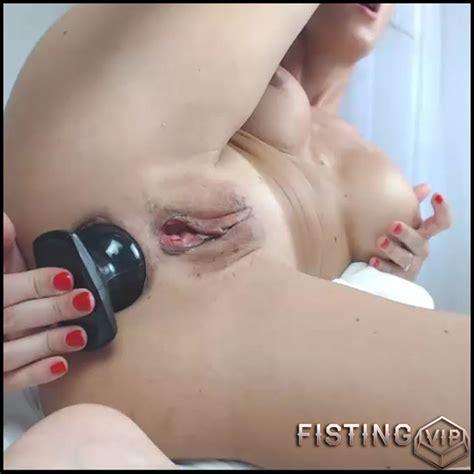Busty Milf Sofia Star Double Dildo Fuck To Gaping Closeup