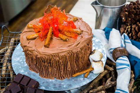 recipes bonfire cake hallmark channel