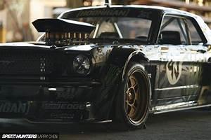 1965 Ford Mustang Hoonigan ASD Gymkhana-Seven drift hot rod rods muscle race racing monster ...