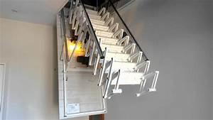Escalier Escamotable Grenier : escalier escamotable motoris de grenier youtube ~ Melissatoandfro.com Idées de Décoration