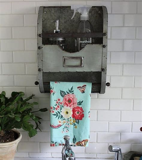 farmhouse style galvanized decor creations  kara