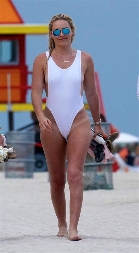 lindsey vonn sexy swimsuit  scandal planet