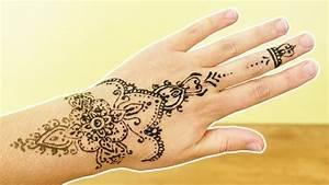 Henna Selber Machen : henna tattoo selber machen sch nes blumen design muster auf hand diy t towieren ohne schmerz ~ Frokenaadalensverden.com Haus und Dekorationen