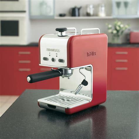 kenwood kmix espresso espresso machine kenwood es021 kmix raspberry red 1100 w