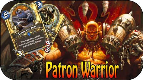 warrior deck hearthstone grim patron hearthstone grim patron warrior deck guide ger