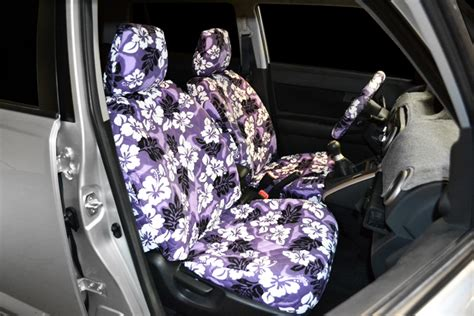 scion cube purple hawaiian seat covers seat covers unlimited