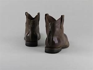 Chaussures Atelier Voisin / BAIA / Boots Marron Cuir Vieilli