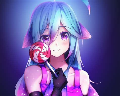 Anime Wallpaper 1280x1024 - 1280x1024 anime rainbows and lolipop 1280x1024