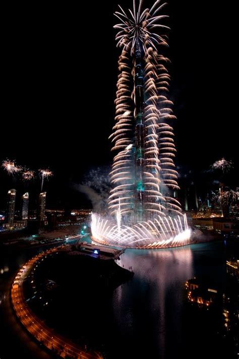 world  popular places burj khalifa fireworks