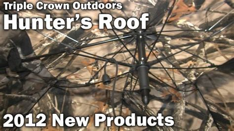 Triple Crown Outdoors- Hunter's Roof Red Roof Inn Tucson North Az Calculate Squares Metal Minimum Slope Flushing American Roofing Company We Do Roofs Reviews Home Depot Material Travel Trailer Repair