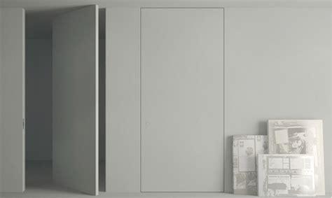 carrelage imitation parquet cuisine portes battante invisible à axe déporté secret à peindre