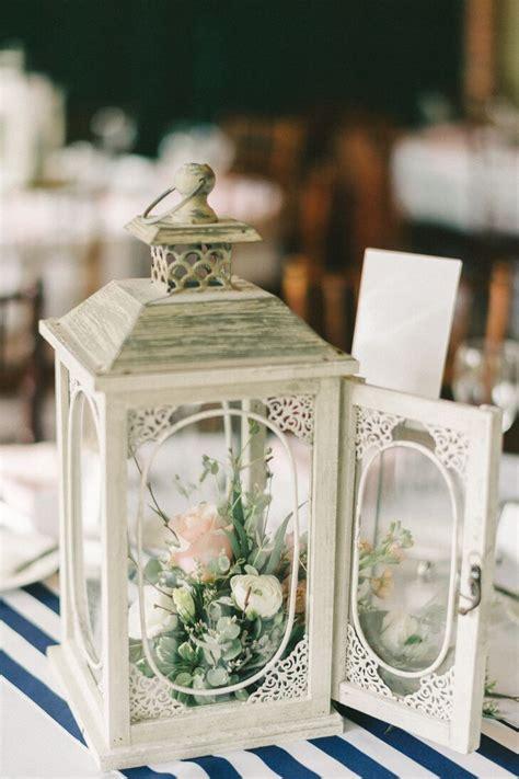 vintage lantern centerpieces