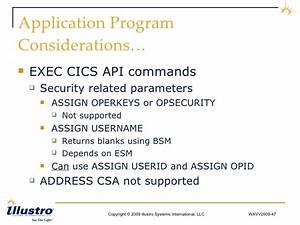 exec cics assign