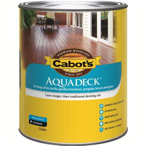 cabots aquadeck 1l exterior decking i n 1520088 bunnings warehouse