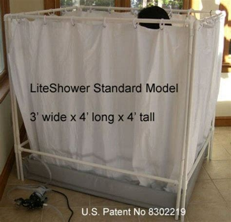 Where To Buy Shower Stalls by Liteshower Wheelchair Accessible Portable Shower Stall