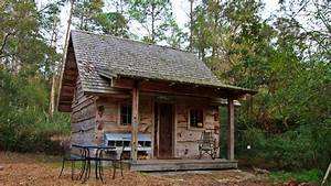 Tiny Cabin With Old World Charm - YouTube
