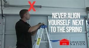Garage Door Spring Replacement Guide How To Tutorial