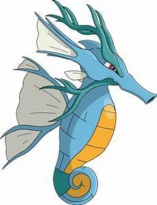 Pokémon #8230 Mega-Kingdra Mega Artwork