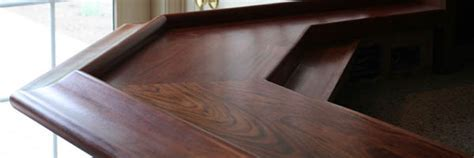 Wood Bar Tops for Home or Commercial Spaces by Grothouse