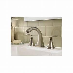 pfister f 049 pdkk pasadena 8 in widespread 2 handle high With pfister pasadena bathroom faucet