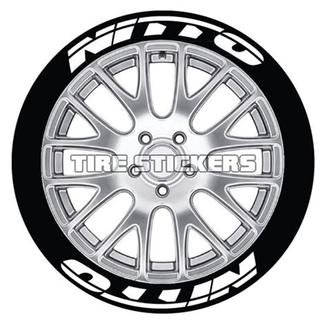 Nitto Tire Lettering