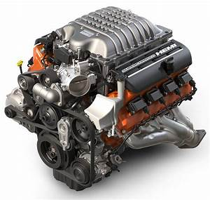 2018 Dodge Charger 6 2l Hemi Srt Hellcat V8 Engine
