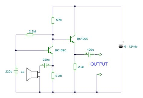 How Build Speaker Microphone Circuit