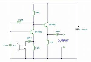 Speaker Microphone Circuit Circuit Diagram And Instructions