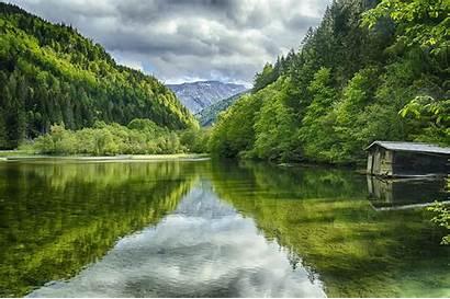 Calm Austria Nature Wallpapers River Desktop Landscape