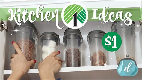 dollar tree kitchen cabinet makeover youtube